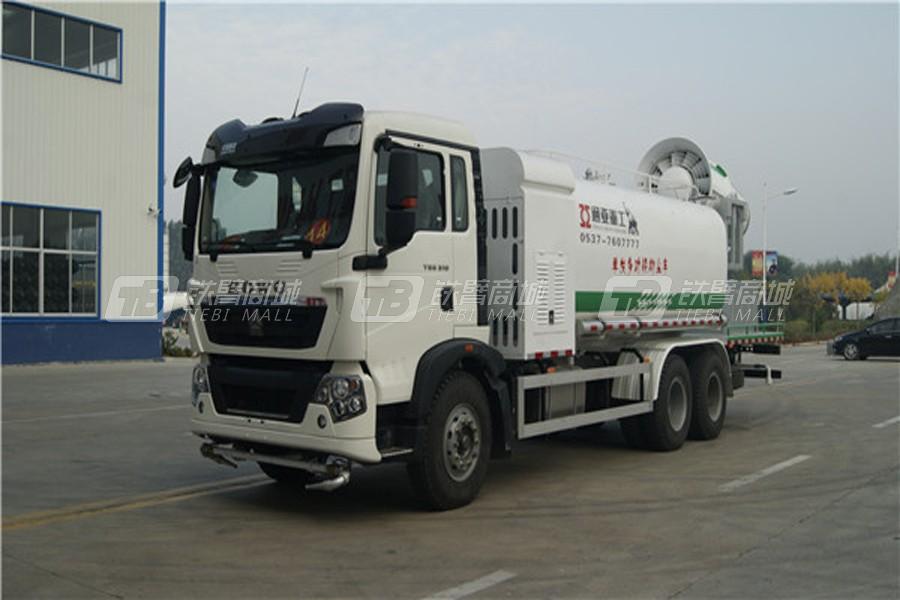 通亚汽车WTY5250TDYSH6单发多功能抑尘车