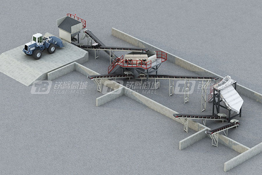 南方路机PSL120-2沥青混凝土回收料筛分设备