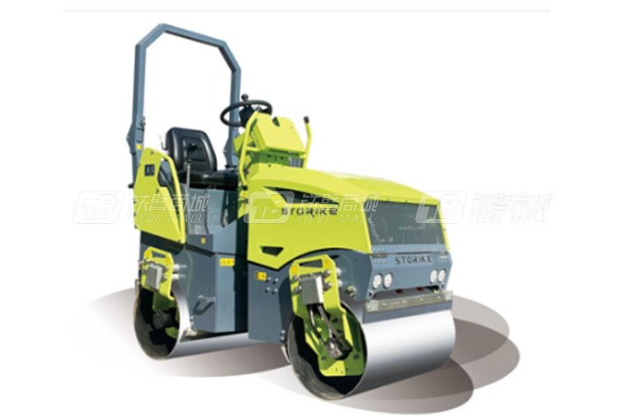思拓瑞克ST1500单钢轮压路机