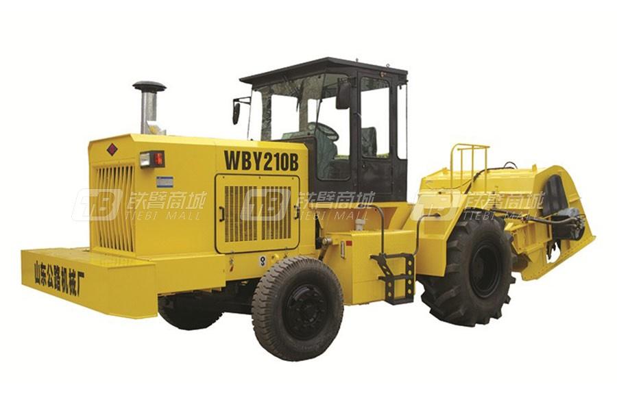 路星WBY210稳定土拌合机