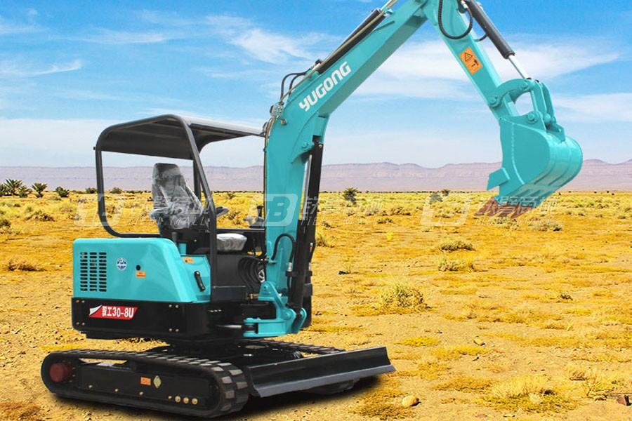 驭工YG30-8U履带小型挖掘机
