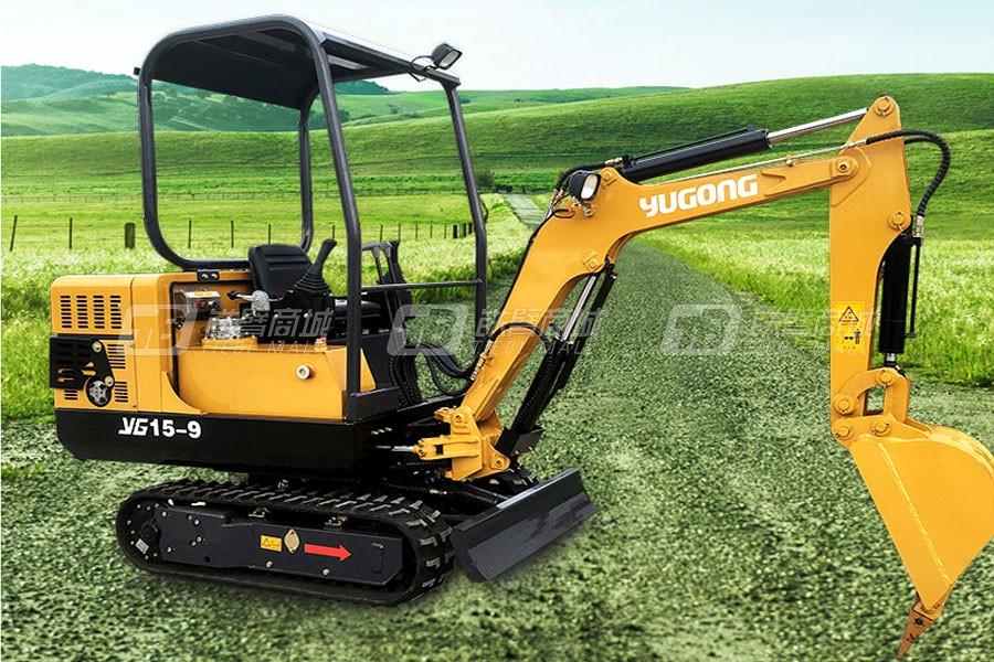 驭工YG15-9履带式小型挖掘机
