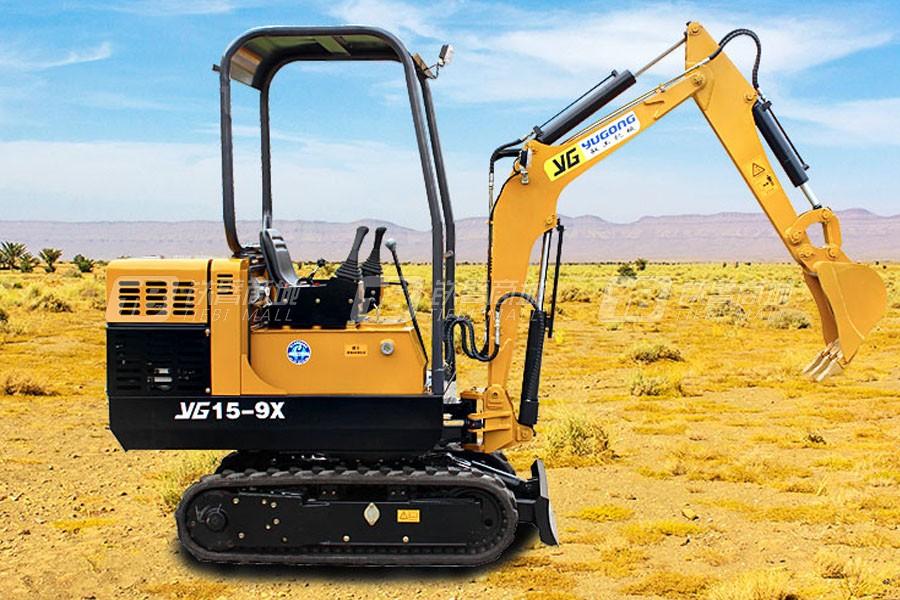 驭工YG15-9X履带小型挖掘机