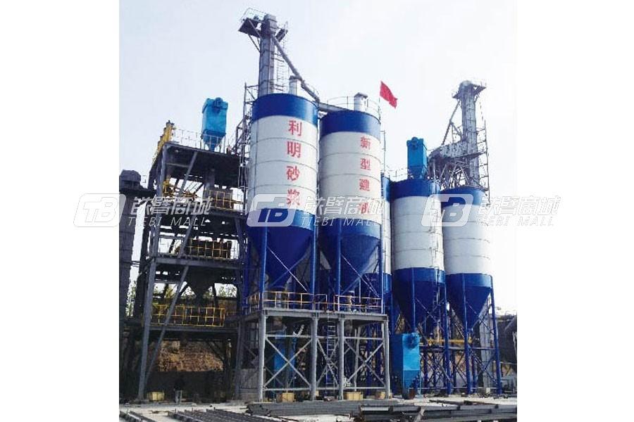 新型建机GDW2000阶梯式干粉砂浆生产线