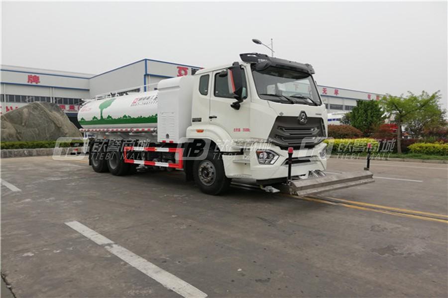 通亚汽车WTY5250GQXSHNG6LNG清洗车