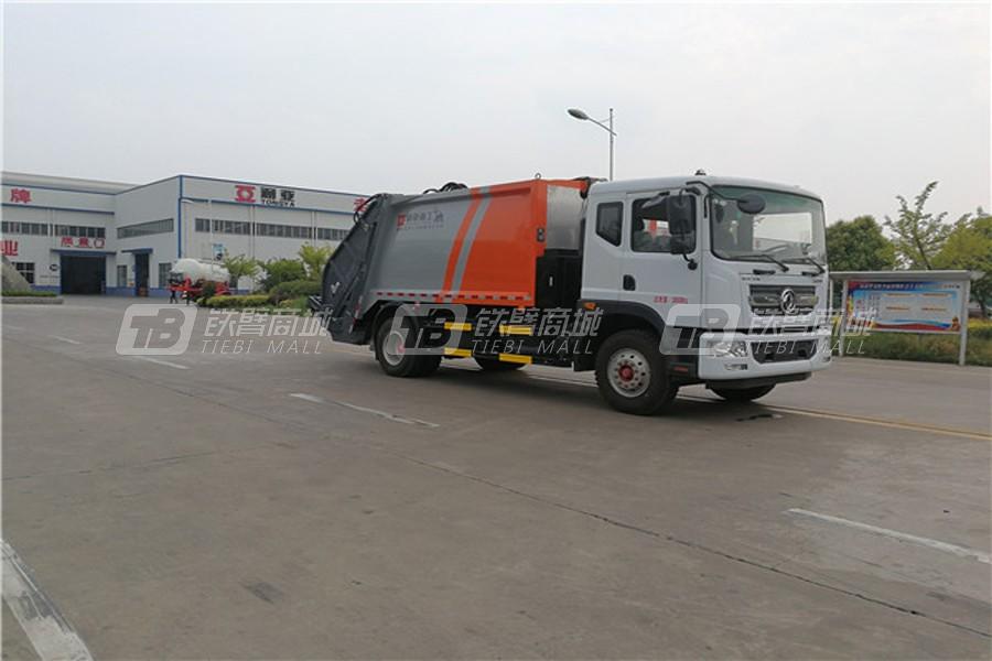 通亚汽车WTY5180ZYSDNG6东风多利卡LNG国六压缩式垃圾