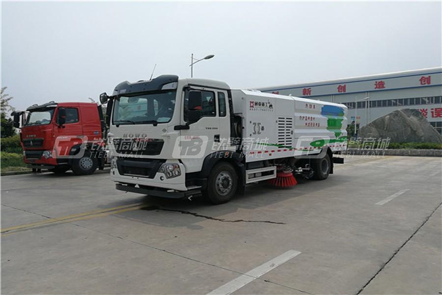 通亚汽车WTY5180TXSSNG6重汽LNG单发洗扫车
