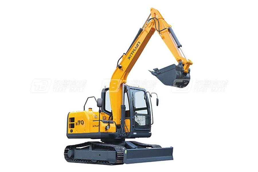 新源机械XYB70履带挖掘机
