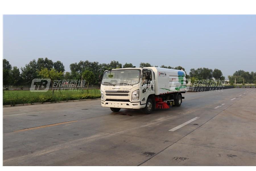 通亚汽车WTY5080TXSQ6庆铃洗扫车