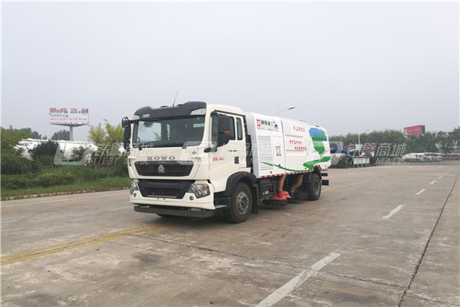 通亚汽车WTY5080TXSJ6江铃洗扫车