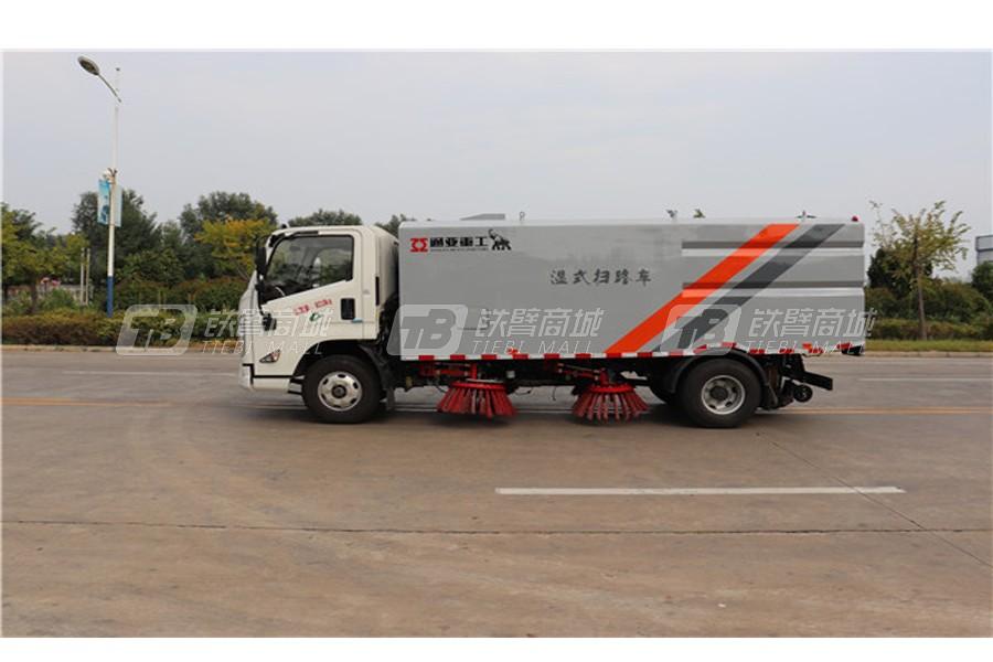 通亚汽车WTY5080TSLJ6湿式扫路车