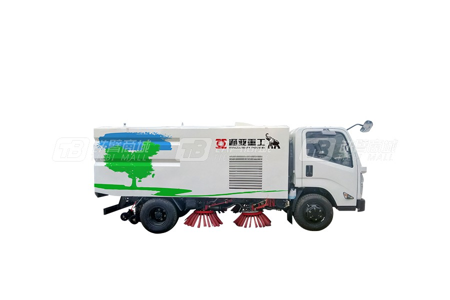 通亚汽车WTY5180TXSS5重汽单、双发洗扫车