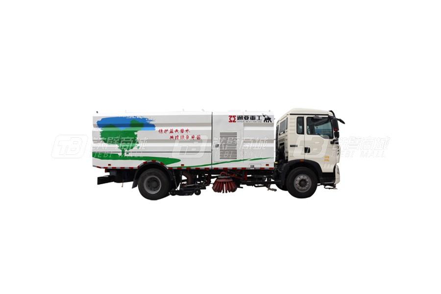 通亚汽车WTY5080TSLJ5江铃湿式扫路车