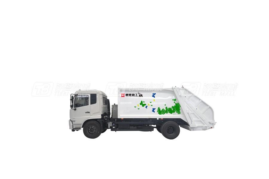 通亚汽车WTY5180ZYSE5东风8吨压缩式垃圾车