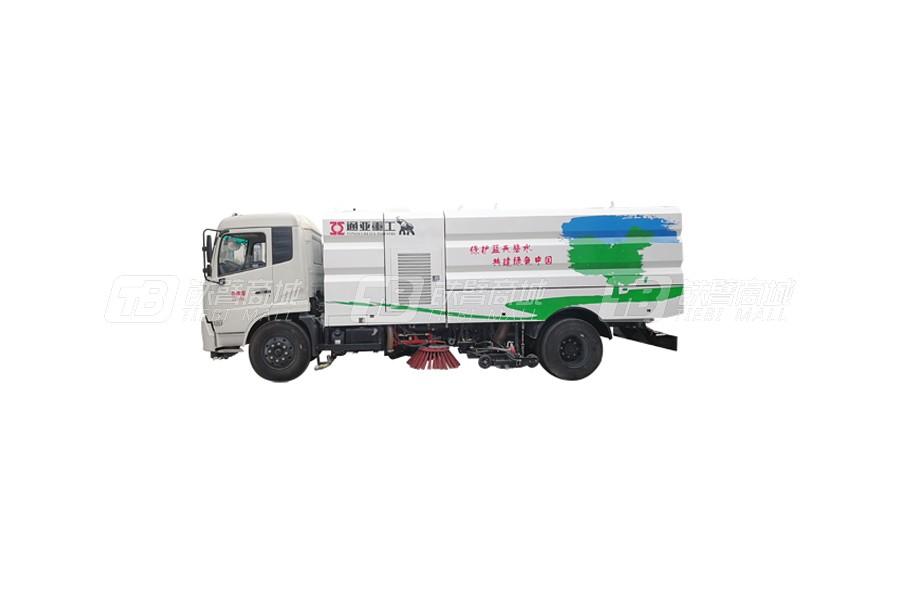 通亚汽车WTY5180TXSE5东风8吨洗扫车