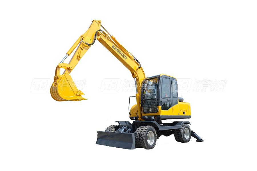 宝鼎WYL80轮式挖掘机