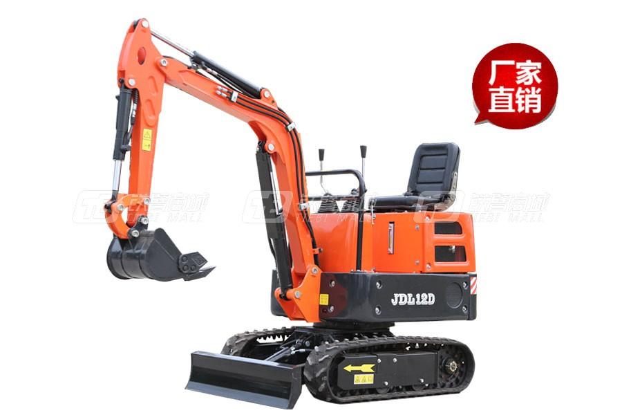 山鼎JDL12D小型挖掘机