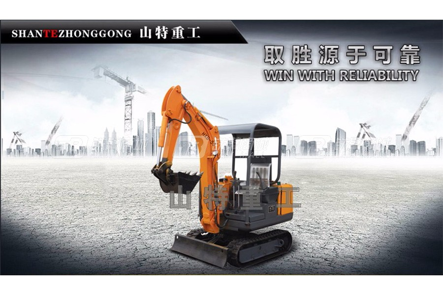 山特重工HXB-55矿用电动挖掘机