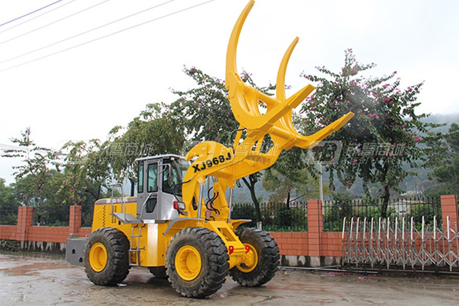 厦金XJ968J大吨位夹木机