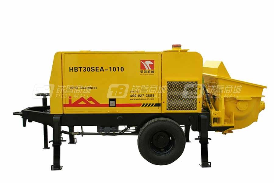 英特HBT30SEA-1010细石混凝土泵