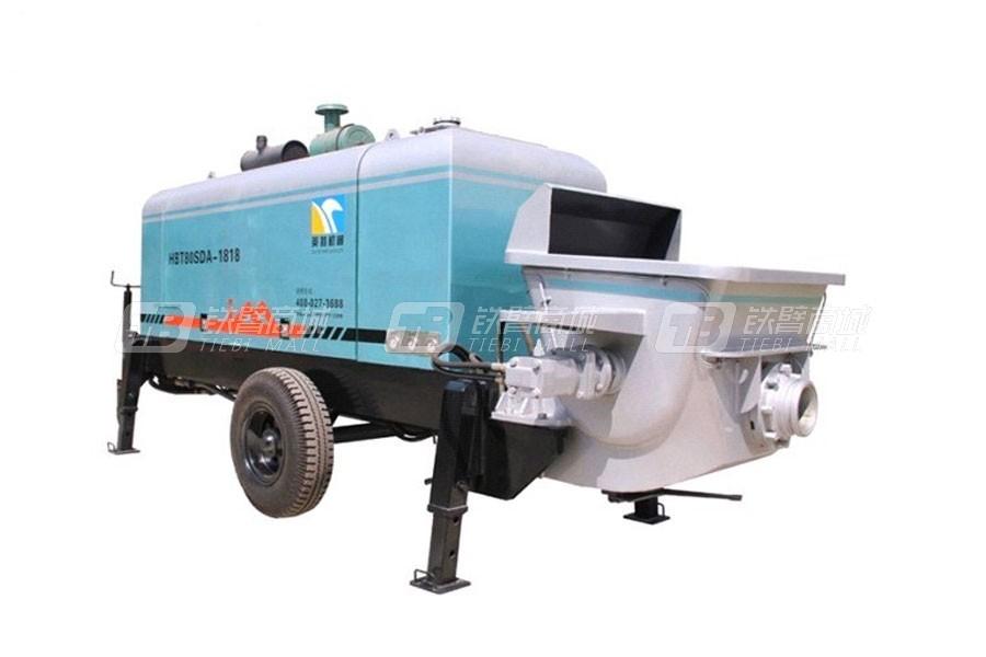 英特HBT60SDA-1816车载式混凝土泵