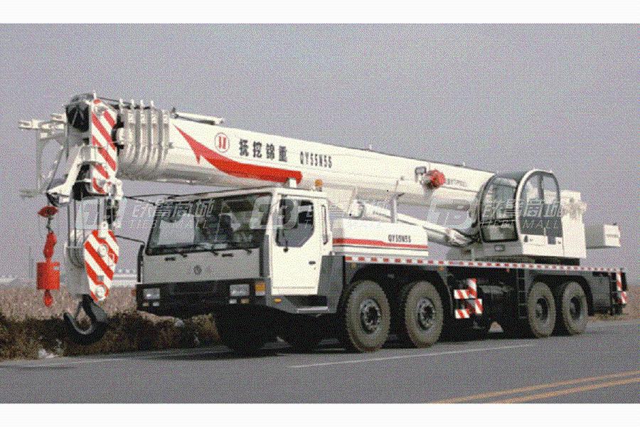 抚挖锦重QY55N5S汽车起重机