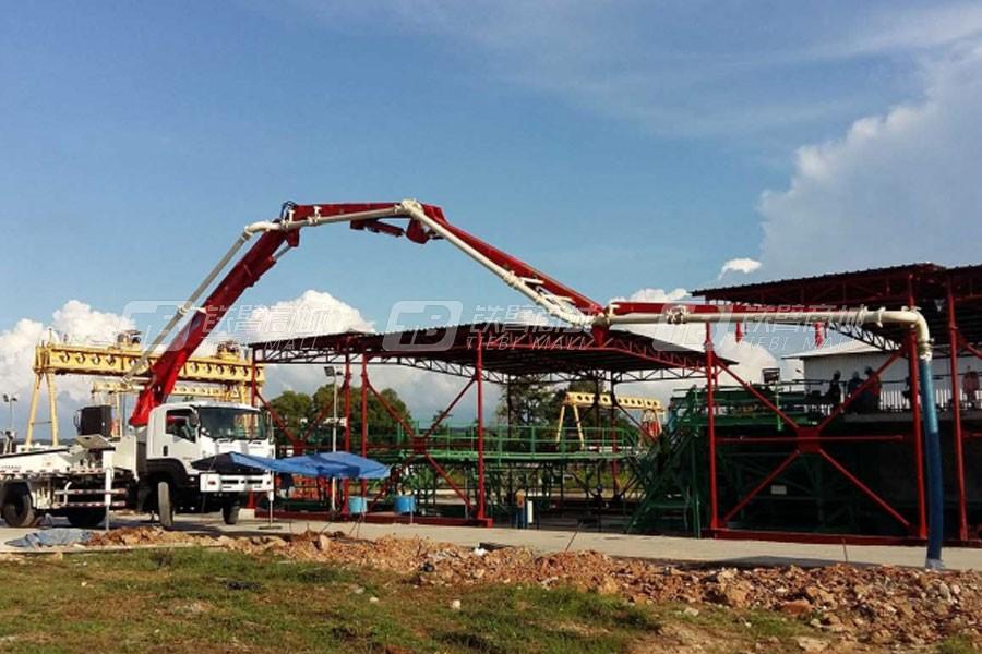 信瑞重工TP25M4臂架泵车