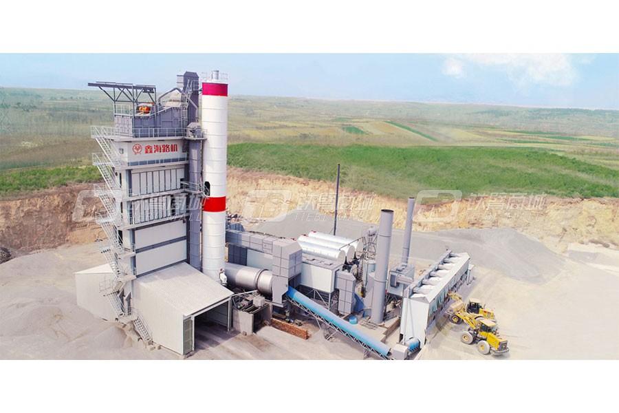 鑫海路机HLB5000沥青混合料搅拌设备