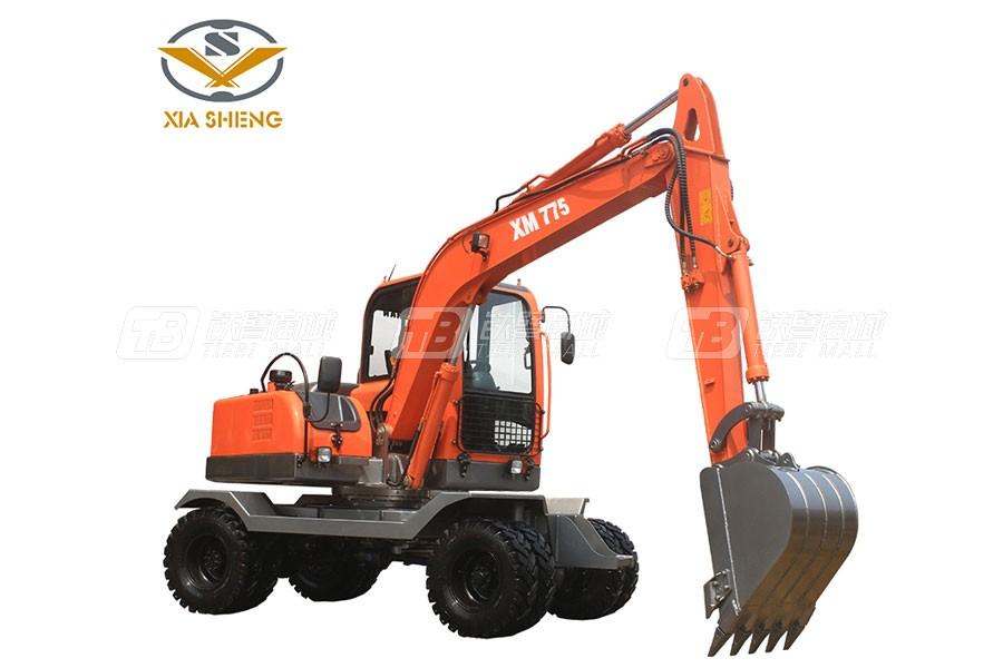 厦盛XM775轮式挖掘机