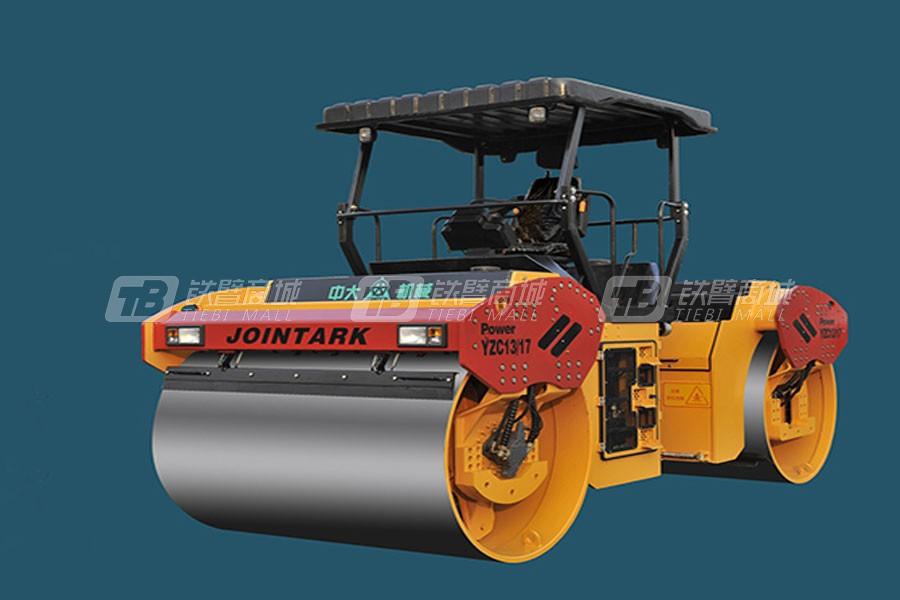 中大机械PowerYZC13/17双钢轮压路机