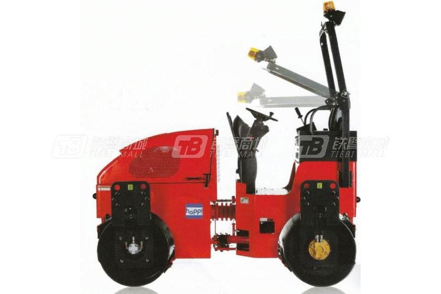 浩博机械DVR28骑式压路机