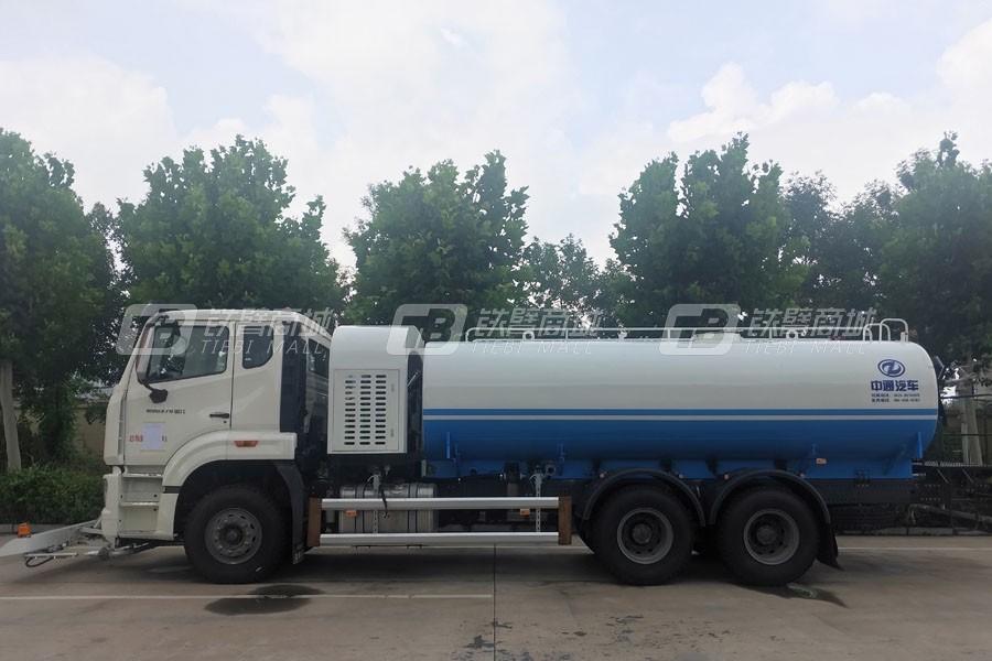 中通汽车ZTQ5180GQXE1J43F高压清洗车