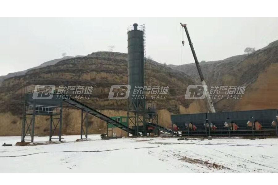 恒云科技WDT600稳定土厂拌设备