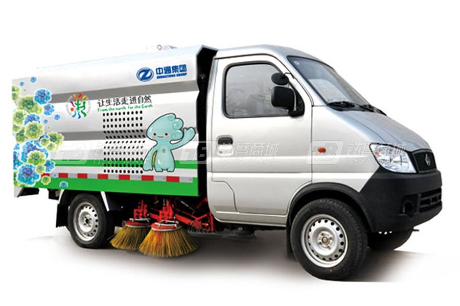 中通汽车ZTQ5030TSLSCF27D洗扫车