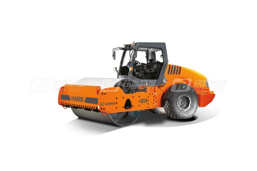 悍马3516光轮式单钢轮压路机