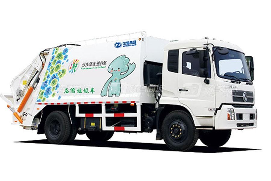 中通汽车ZTQ5070ZYSQLG34F压缩垃圾车