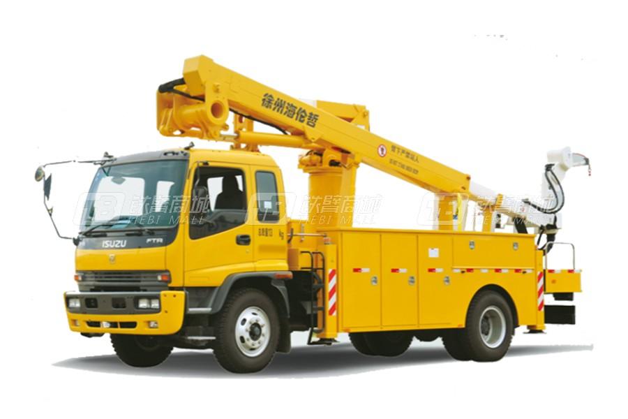 海伦哲XHZ5132JGKQ5庆铃17.8m绝缘臂高空作业车