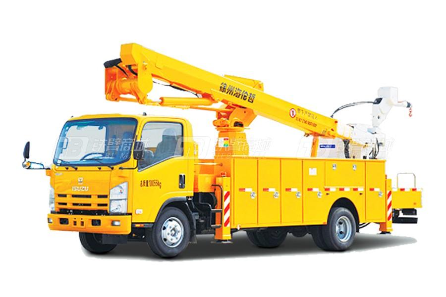 海伦哲XHZ5100JGKQ5庆铃18.8m绝缘臂高空作业车