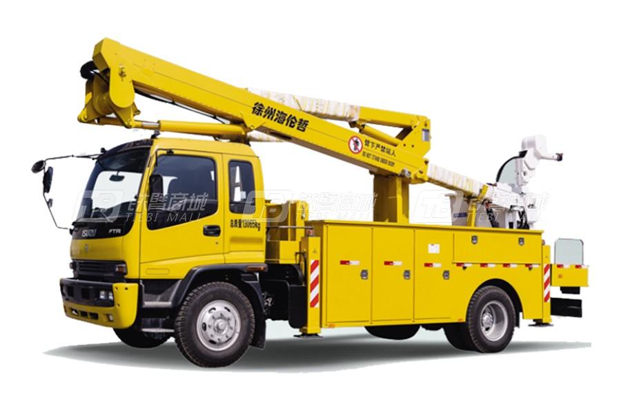 海伦哲XHZ5131JGKD5东风20.6m绝缘臂高空作业车