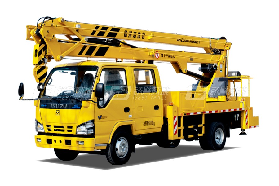 海伦哲XHZ5067JGKQ51庆铃18.5m折叠臂高空作业车