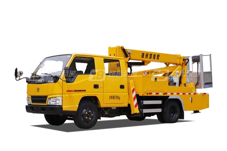 海伦哲XHZ5061JGKQ51庆铃14m混合臂高空作业车