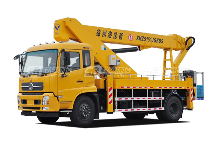 海伦哲XHZ5141JGKQ5庆铃29m混合臂高空作业车
