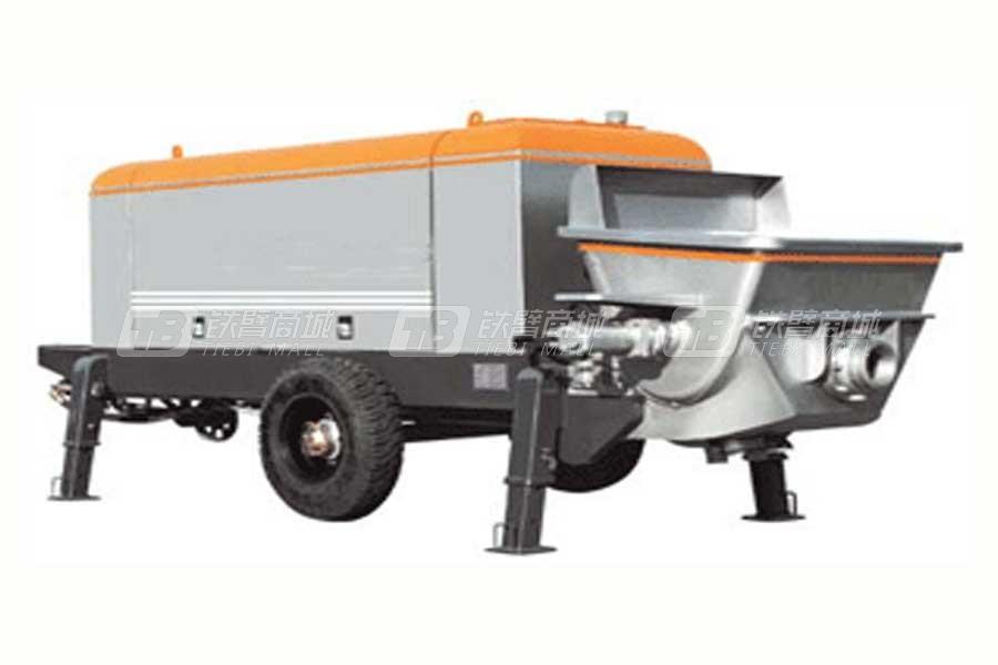 山东明龙HBTS80-16-195柴油机混凝土拖泵