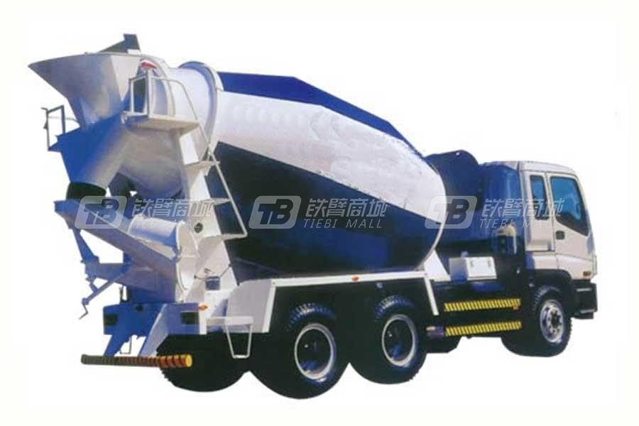 山东明龙ZZ5322GJBN3246F混凝土搅拌运输车