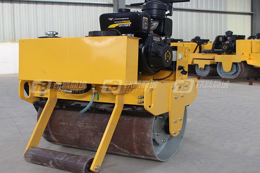 宜迅YX-700C手扶式重型单钢轮压路机
