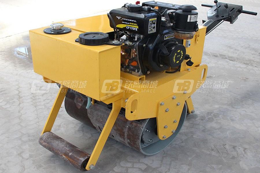 宜迅YX-60C手扶式单钢轮压路机柴油款