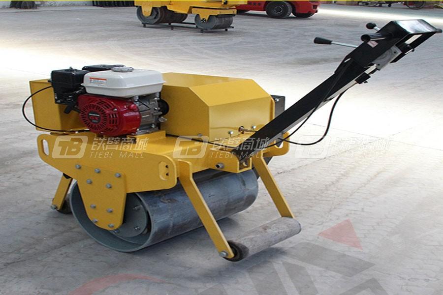 宜迅YX-60Q手扶式单钢轮压路机汽油款