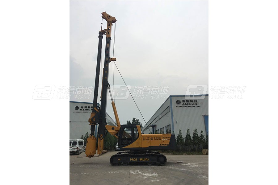 海润XHR45小型旋挖钻机