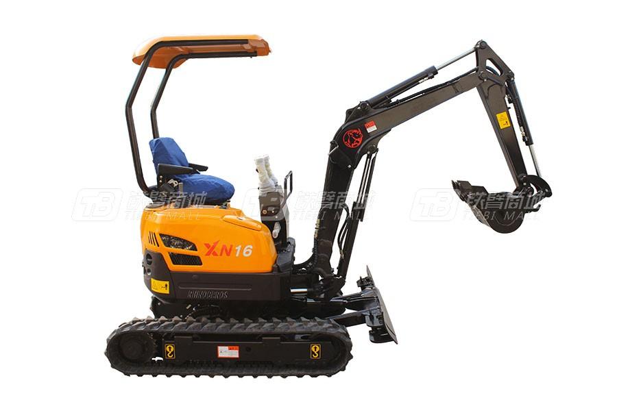 犀牛重工XN16履带挖掘机