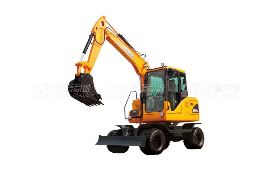 犀牛重工XN80-L轮式挖掘机